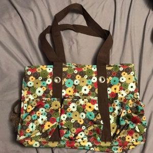 Thirty-One Gifts Floral Print Tote